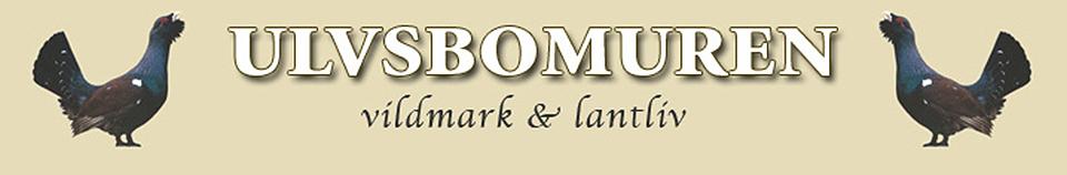 Ulvsbomuren Vildmark & Lantliv Logotyp